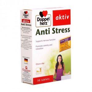 Doppelherz Aktiv ANTI STRESS (hộp 30 viên) – GIÚP BỔ NÃO, GIẢM CĂNG THẲNG