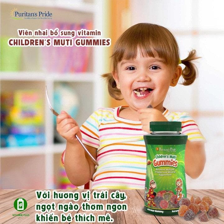 Puritan's Pride Children's Multivitamins & Minerals Gummies
