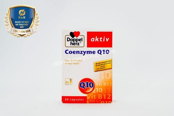 Thực phẩm chức năng Doppelherz Aktiv Coenzyme Q10 hỗ trợ bảo vệ sức khỏe tim mạch