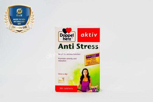 Doppelherz AKTIV ANTI STRESS - Sản phẩm hỗ trợ giảm tình trạng căng thẳng