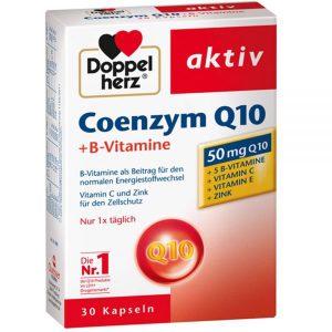 Doppelherz Aktiv COENZYME Q10 30mg 30 viên – Thực phẩm chức năng bảo vệ SỨC KHỎE CHO TIM MẠCH
