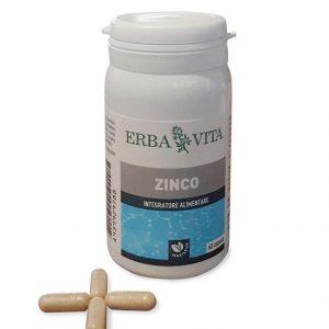 Viên uống Kẽm ZINCO Erba Vita 60 viên – Hỗ trợ Nâng cao miễn dịch, Kích thích tiêu hóa, Tăng cường sinh lý Nam – Nữ