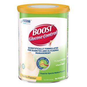Sữa BOOST GLUCOSE CONTROL hộp 400 GRAM – Dinh dưỡng đặc chế dành cho người ĐÁI THÁO ĐƯỜNG