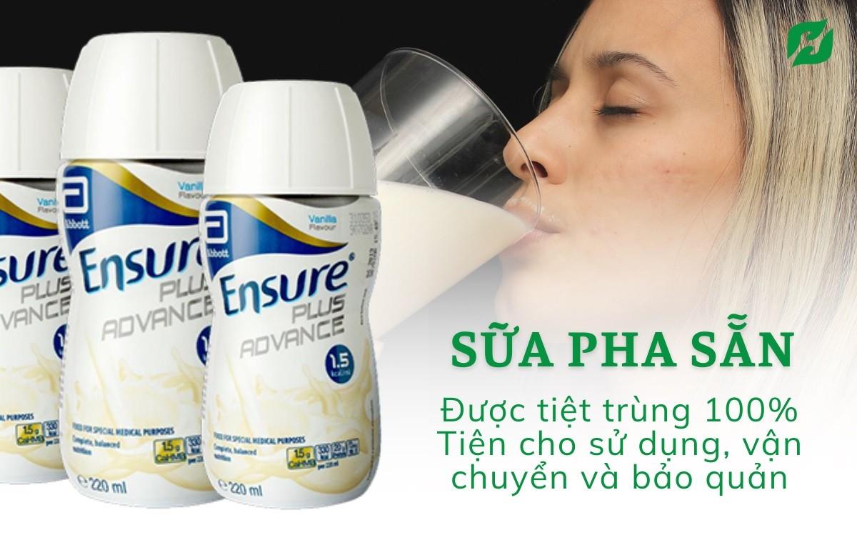Sữa ENSURE PLUS ADVANCE 1.5 Kcal (200ml) hương Vanilla