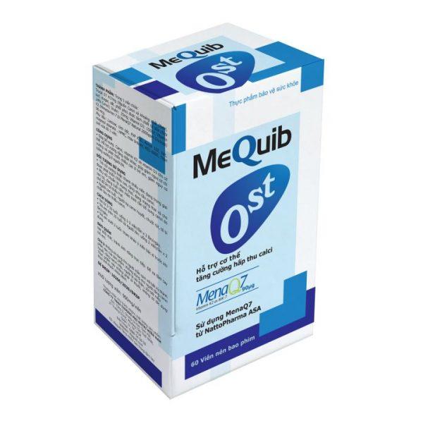 Sản phẩm viên uống MEQUIB OST – Bổ sung Calci cho trẻ còi xương, phòng ngừa loãng xương