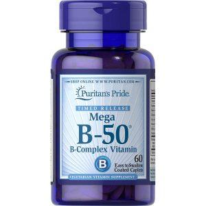 Viên uống bổ sung Vitamin B50® Complex – VITAMIN B TỔNG HỢP