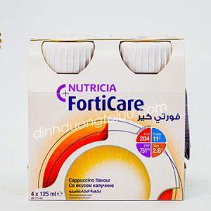 Sữa FORTICARE Nutricia Hà Lan (125ml x4) – Dinh dưỡng chuyên biệt cho bệnh nhân UNG THƯ