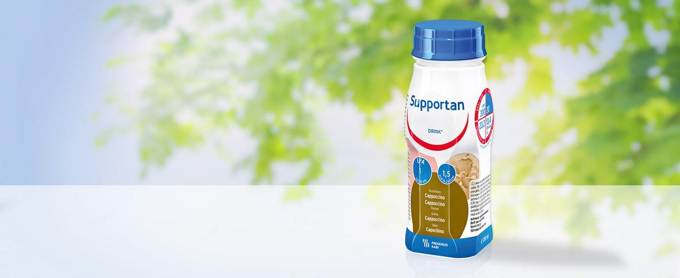 Sữa Supportan được thiết kế theo công thức phù hợp với khuyến cáo của ESPEN cho bệnh nhân ung thư