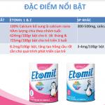 Sữa ETOMIL 2 900g – Dinh dưỡng y học dành cho TRẺ BIẾNG ĂN và SUY DINH DƯỠNG từ 3 TUỔI TRỞ LÊN