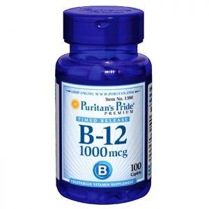 Viên uống bổ sung Vitamin B-12 1000 mcg