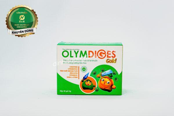 Cốm Olymdiges Gold dành cho trẻ biếng ăn, trẻ suy dinh dưỡng do hệ tiêu hóa hấp thu kém
