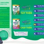 Sữa NUTRICARE KIDNEY 1 – Dinh dưỡng chuyên biệt cho BỆNH NHÂN SUY THẬN TRƯỚC LỌC