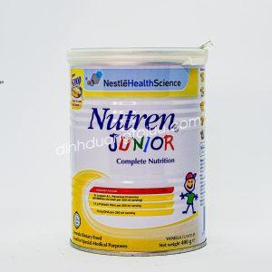 Sữa NUTREN JUNIOR dạng bột, hộp 400 gram – Dinh dưỡng đặc chế dành cho trẻ TỪ 1 ĐẾN 10 TUỔI