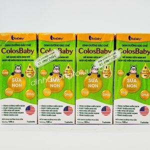 SỮA COLOSBABY pha sẵn110ml / 180ml VitaDairy – Tăng cường ĐỀ KHÁNG, hỗ trợ MIỄN DỊCH cho bé