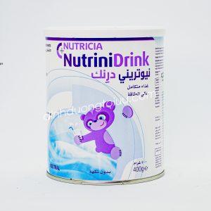 Sữa NUTRINIDRINK 400g của Nutricia Hà Lan – Sữa cao năng lượng giúp trẻ SUY DINH DƯỠNG bắt kịp đà tăng trưởng