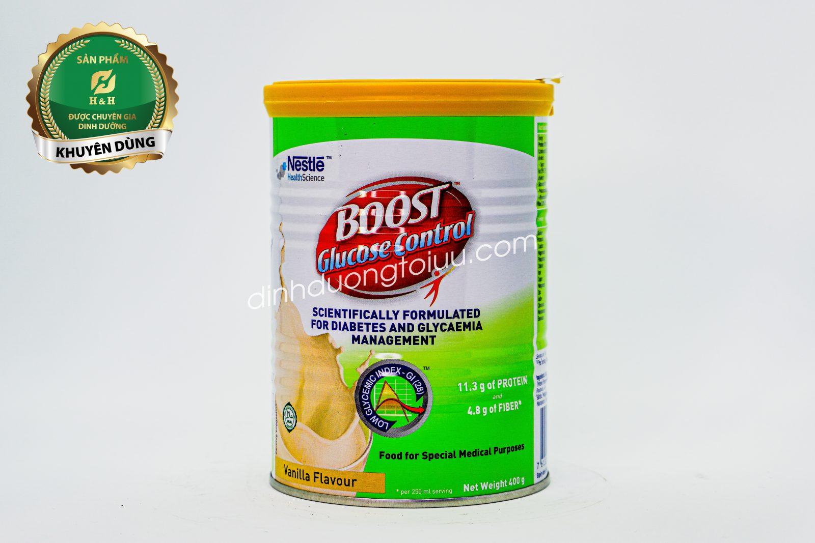 Sữa Boost Glucose Controllà dòng sữa đặc chế dành riêng cho người đái đáo đường.