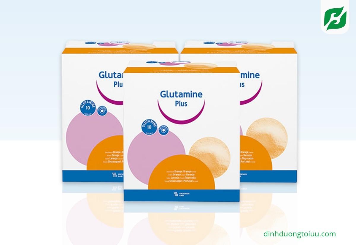GLUTAMINE PLUS ORANGE 30 gói – Dinh dưỡng y học cho bệnh nhân SAU PHẪU THUẬT hoặc VIÊM NHIỄM MÃN TÍNH