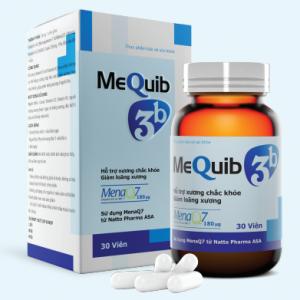 Thực phẩm chức năng MEQUIB 3B – Viên uống hỗ trợ TĂNG TRƯỞNG CHIỀU CAO, NGĂN NGỪA LOÃNG XƯƠNG