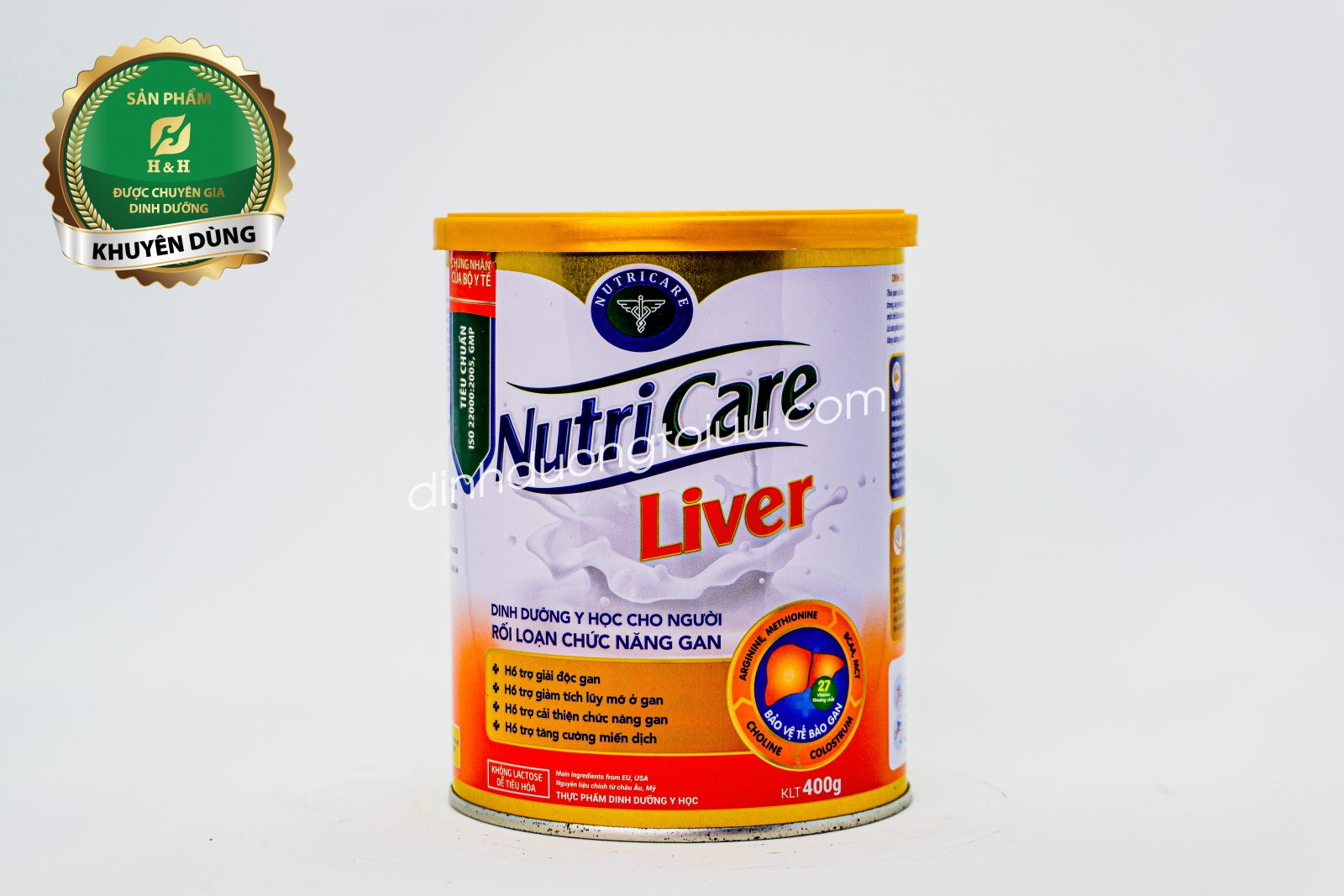 Sữa Nutricare Liver dành cho người rối loạn chức năng gan