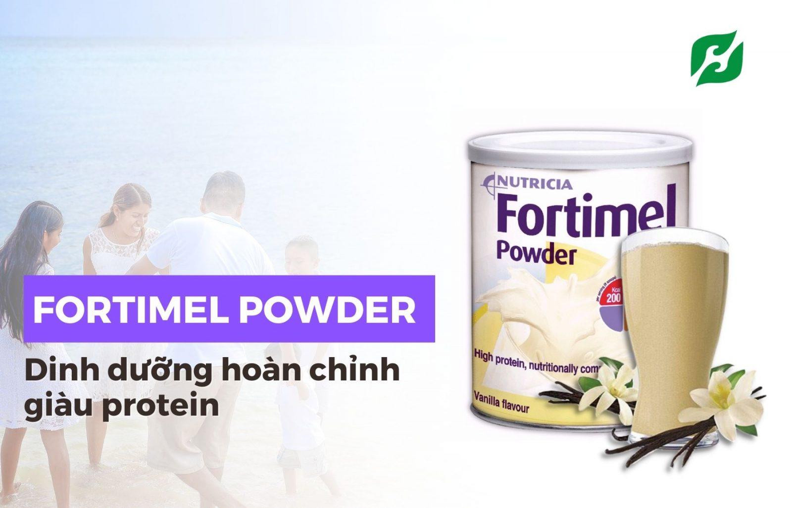 SỮA BỘT FORTIMEL POWDER VANILLA 335g