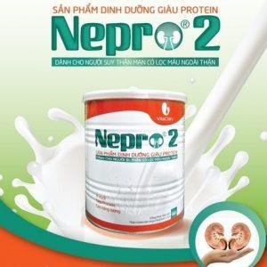 SỮA NEPRO 2 dạng bột 400g –  Dinh dưỡng đặc chế cho NGƯỜI BỆNH THẬN CÓ LỌC MÁU NGOÀI THẬN
