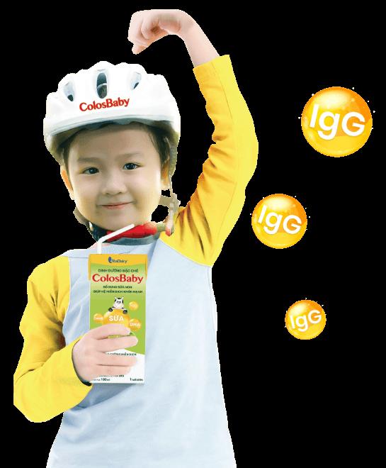 Sữa non ColosBaby pha sẵn - Dinh dưỡng vàng phát triển chiều cao, não bộ cho bé