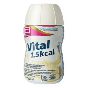 Sữa VITAL 1.5 kcal từ Abott Hoa Kỳ (200ml) hương Vanilla – Dinh dưỡng tối ưu dành cho NGƯỜI SUY DINH DƯỠNG, bệnh nhân KÉM HẤP THU