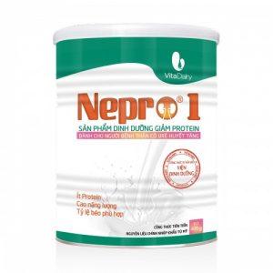 Sữa NEPRO 1 (hộp 400g) – Dinh dưỡng dành cho NGƯỜI BỆNH SUY THẬN CÓ URÊ HUYẾT TĂNG, dùng được cho bệnh nhân ĐÁI THÁO ĐƯỜNG