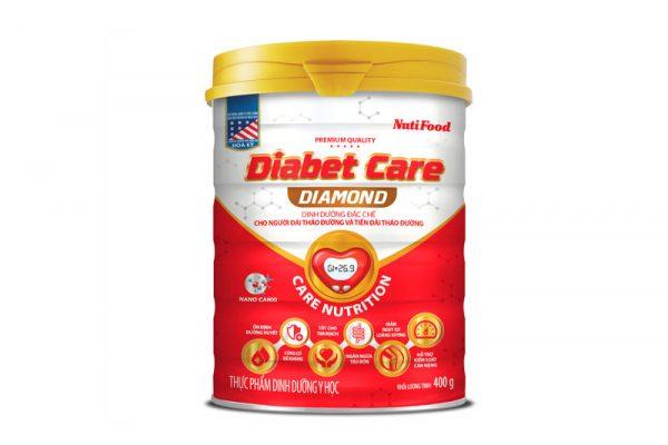 Sữa Diabet care diamond 400g - Dinh dưỡng đặc chế cho người Đái tháo đường