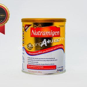 Sữa NUTRAMIGEN A+ LGG 400g – Dinh dưỡng y học cho trẻ từ 0-12 tháng bị DỊ ỨNG ĐẠM SỮA BÒ