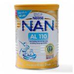 Sữa NAN AL 110 từ Nestle Thụy Sĩ Hương Vanilla (400g) – Dinh dưỡng dành cho TRẺ TIÊU CHẢY và BẤT DUNG NẠP ĐƯỜNG LACTOSE
