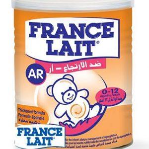 Sữa FRANCE LAIT AR – Sản phẩm dành cho trẻ từ 0 đến 12 tháng tuổi BỊ NÔN TRỚ, TRÀO NGƯỢC DẠ DÀY, THỰC QUẢN
