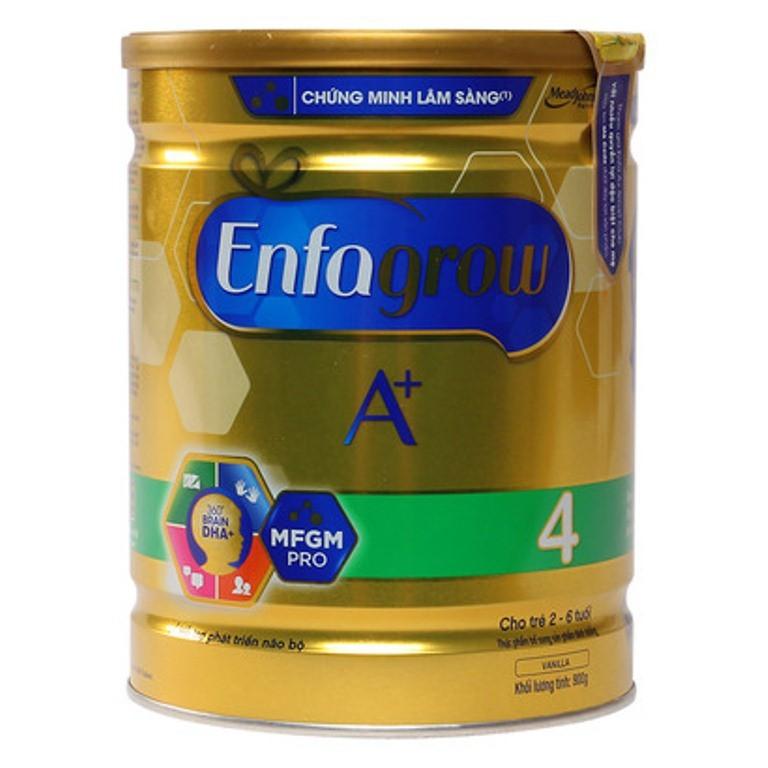 Sữa Enfagrow A+4 là lựa chọn thông minh cho trẻ phát triển vượt trội