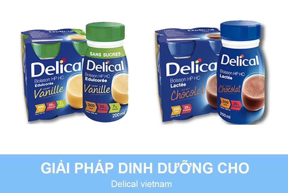 Sữa Delical pha sẵn - Giải pháp dinh dưỡng cho bệnh nhân suy dinh dưỡng, ăn uống kém