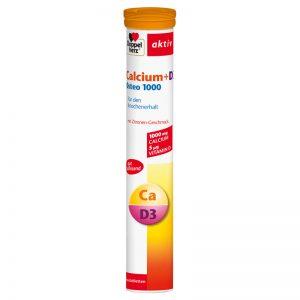 Doppelherz Aktiv CALCIUM + D3 OSTEO 1000 – Thực phẩm chức năng giúp bổ sung CALCIUM và VITAMIN D3 cần thiết cho cơ thể