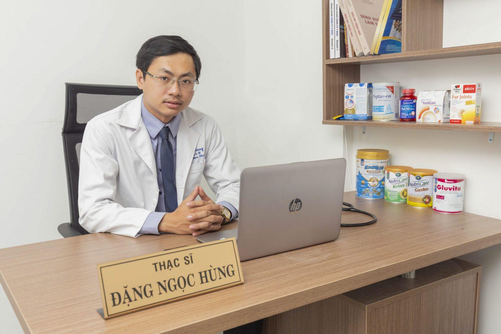 Ths. Đặng Ngọc Hùng - Chuyên gia dinh dưỡng tại H&H Nutrition
