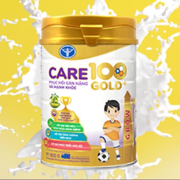Lợi ích của sữa Care 100 Gold đối với trẻ 1 -10 tuổi đánh bay suy dinh dưỡng, thấp còi ở trẻ