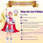 Sữa CARE 100 GOLD – Đánh bay SUY DINH DƯỠNG, THẤP CÒI ở trẻ 1 – 10 tuổi
