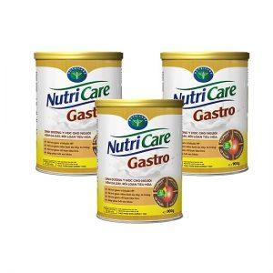 Sữa NUTRICARE GASTRO – Dinh dưỡng đặc chế cho bệnh nhân VIÊM DẠ DÀY, RỐI LOẠN TIÊU HÓA