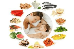 Thiếu máu ở trẻ sơ sinh –  3 nhóm thực phẩm mẹ nên ăn