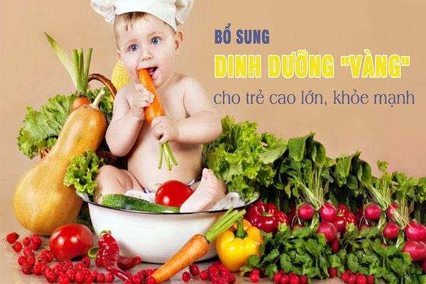 Chế độ ăn và sữa dành cho bé từ 6 đến 8 tháng phát triển chiều cao tối ưu