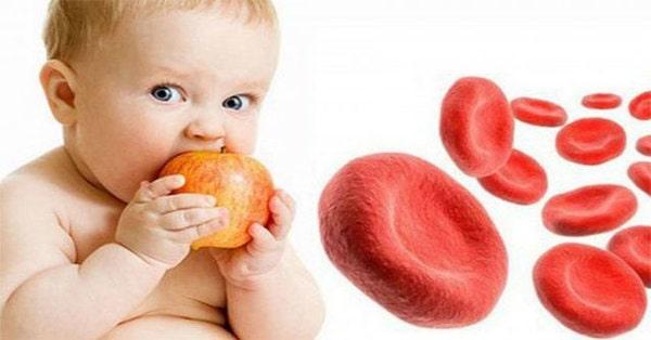 Trẻ thiếu máu