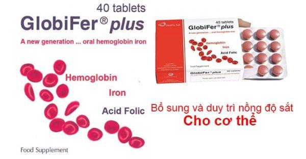 Thuốc bổ máu chứa Sắt hem dễ hấp thu