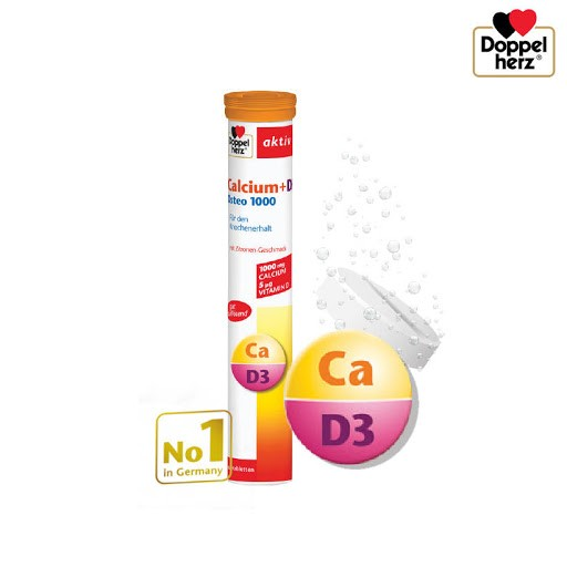 Doppelherz Calcium + D3 Osteo 1000