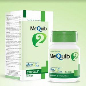 Thực phẩm bảo vệ sức khỏe MEQUIB 2 – Giúp bổ sung VITAMIN D3 và VITAMIN K2 cho NGƯỜI CÓ NGUY CƠ BỊ THIẾU CALCI