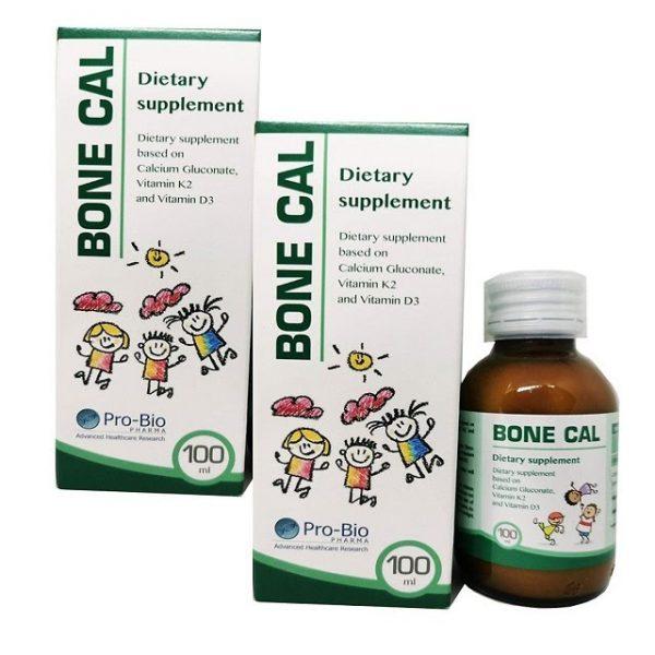 BONE CAL 100ml Bổ sung CANXI, VITAMIN D3, K2 – Giải pháp hoàn hảo phát triển CHIỀU CAO tối ưu cho trẻ