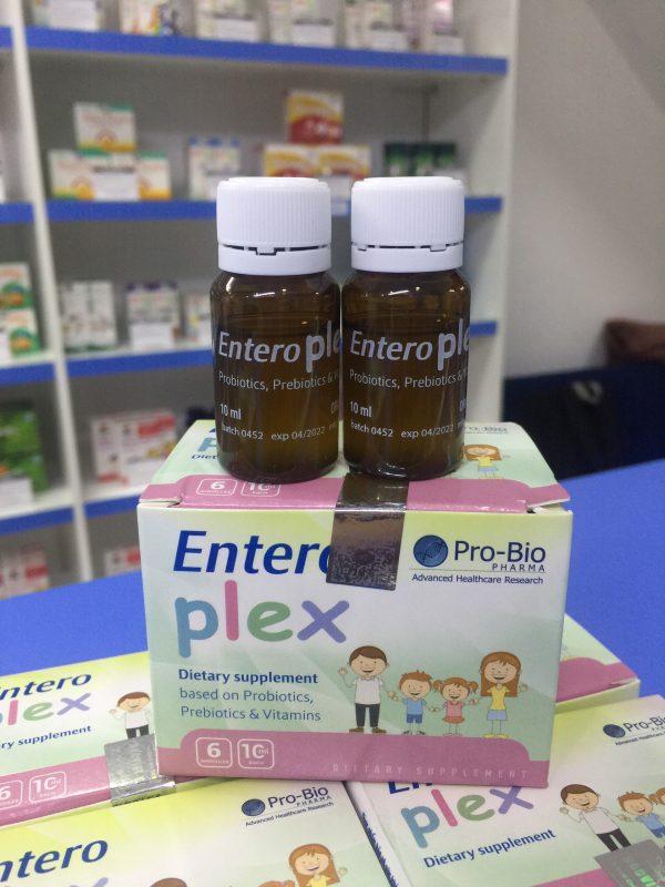 Men vi sinh Entero Plex - Tăng cường tiêu hóa, bồi bổ cơ thể
