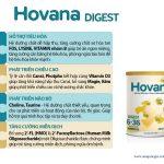 Sữa Hovana Digest hỗ trợ tiêu hóa, tăng cường miễn dịch, tăng cân tự nhiên cho bé 6-36 tháng