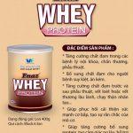 Bột Enaz Whey Protein ( Hộp 400g) – Bột bổ sung chất đạm cho người suy kiệt, ăn uống kém