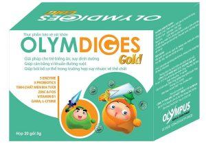 Olymdiges Gold – Bổ sung men tiêu hóa và vi khuẩn có lợi cho đường ruột